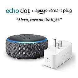 All-New Amazon Echo Dot Bluetooth $24 [Bundled w/ TP-Link Kasa Smart Plug $29]