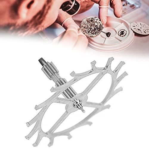 Accesorios de Movimiento de Reloj, Trabajadores de reparación de Relojes Pieza de reparación de Movimiento Herramientas de reparación de Reloj Movimiento de Reloj Rueda de Escape para