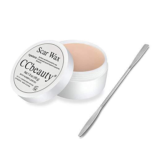 CCbeauty Make-up Wachs Wound Modeling Makeup Wax alloween Makeup Wachs Für Spezialeffekte Theater Make-up Und Halloween Spaß Am Thema Teil Falsche Narbe Wundhaut Aus Wachs