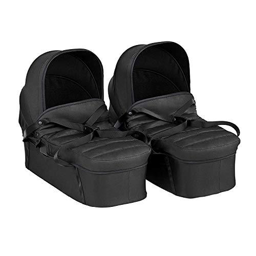 Baby Jogger Infant Bassinet | City Tour 2 Double Stroller Carry Cot, Jet