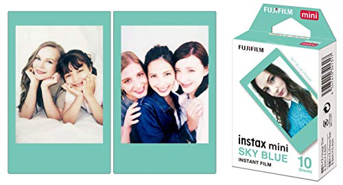 Fujifilm Instax Mini Instant Film, Blau, Einzelpackung