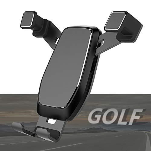 AYADA Handyhalterung für VW Golf 7, Golf 7 Handyhalterung Upgrade Design Gravity Auto Lock ohne Jitter Golf 7 Handy Halterung Smartphone Handy Halter Golf Zubehör Accessories