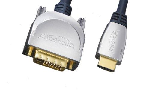 Clicktronic HDMI auf DVI-D Kabel - HC 270-500 5,0m