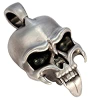 Bico Strigoi Pendant (E307) - Restless Soul - Satin Silver Finished Tribal Skull Jewelry 商品カテゴリー: メンズ ネックレス ペンダント [並行輸入品]