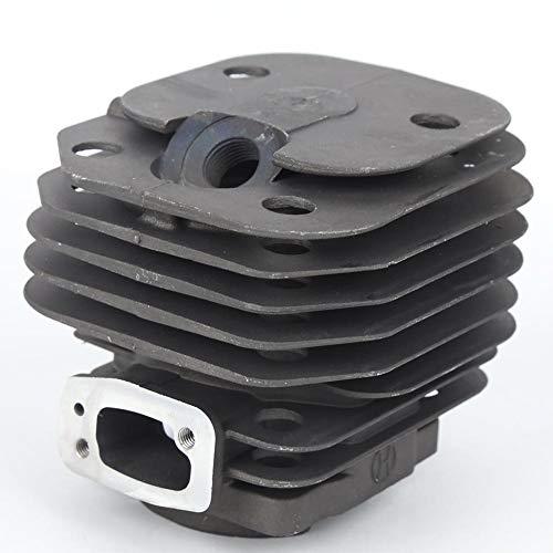 Kit de conjunto de pistón de cilindro general, pistón de cilindro de motosierra de 48 mm/1.89 pulgadas, accesorios para herramientas de hardware, para motosierra de gasolina 61