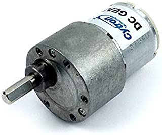 12V Brush DC Motor Reduction Geared 16/22/38/75/150/225RPM (Gear Ratio: 20:1)