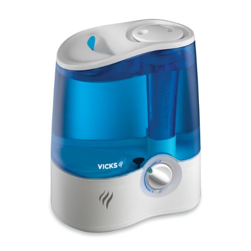 Price comparison product image Vicks Ultrasonic Humidifier Cool Mist Humidifier to Help Relieve Cold and Flu Symptoms