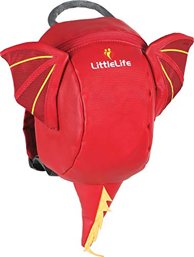 Lifemarque Unisex– Babys Toddler Dragon Rucksack, Mehrfarbig, One Size