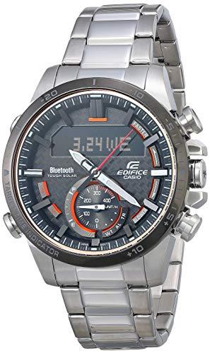Reloj Casio Edifice para Hombres 49mm, pulsera de Acero Inoxidable
