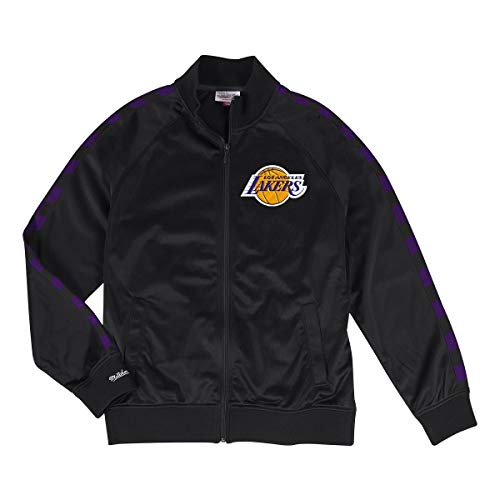 Mitchell & Ness Jacke Track Jacket NBA Los Angeles Lakers, Schwarz , XL