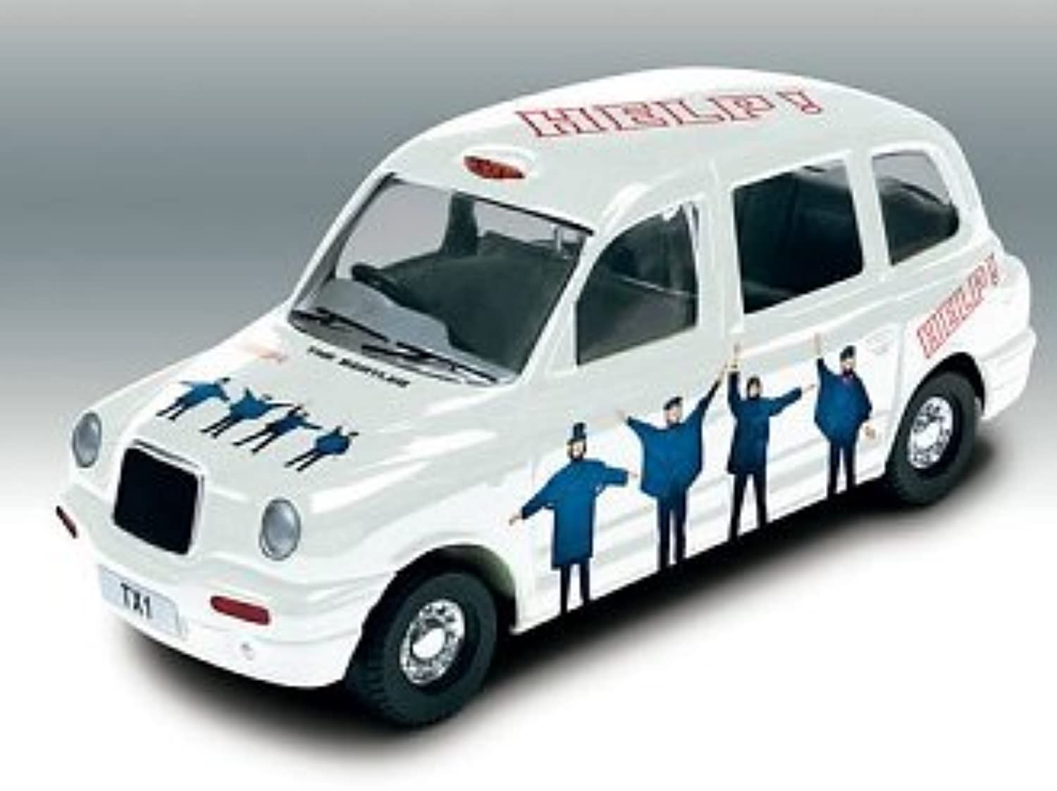 Austin Taxi in Limited Edition Tin (The Beatles  Abbey Road) (1 36 scale)