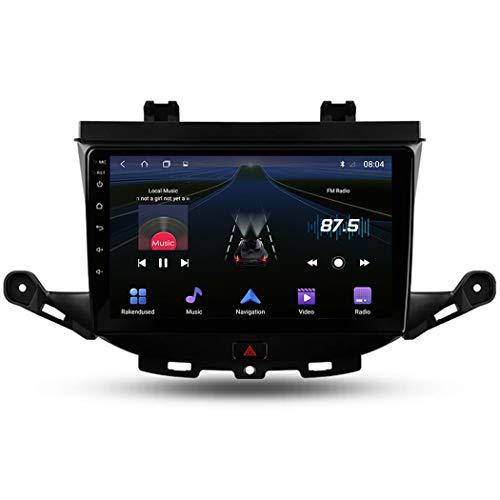 Android 9.1 Autoradio Stereo GPS Navigatore 2 Din con 9' Schermo, per Opel Astra K 2015-2019 Bluetooth Vivavoce Microfono Integrato Supporto FM AM RDS Controllo del volante,4 core,WiFi: 1+16GB