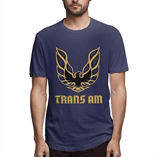 Cargo Trans Logo Logos Rates Men's Short Sleeve T-Shirt Fashion Printed Casual Short Sleeve Cotton Navy M