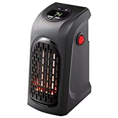 EASY TO USE: The Handy Heater is made for your convenience. Simply plug in the Handy Heater into any outlet for quick and easy heat instantly! DIGITAL TEMPERATURE DISPLAY: The Handy Heater features a digital temperature display where you can adjust t...
