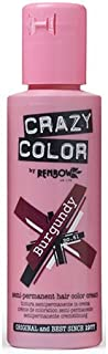 Crazy Color Burgundy Nº 61 Crema Colorante del Cabello Semi-permanente