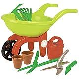 Simba 107137758 - Schubkarre mit Gartenwerkzeug,...