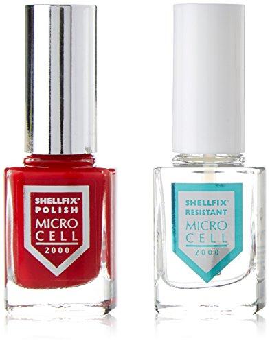 Micro Cell Shellfix polonais, rouge Nombre F6