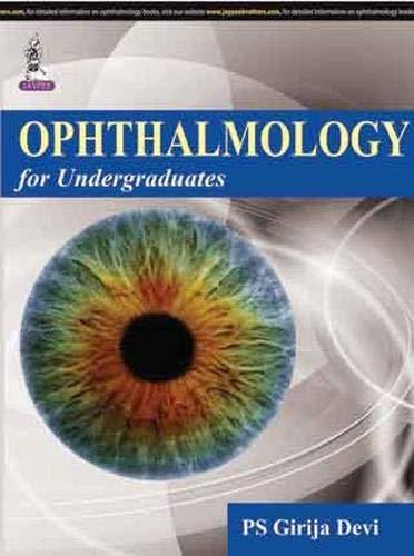 Ophthalmology For Undergraduates