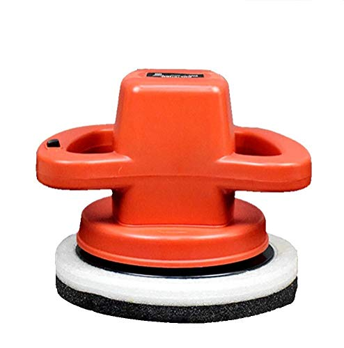 Creëert duurzame glans professionele Traccia 220 V auto polijstmachine thuis details variabele slijpsnelheid hoge nauwkeurigheid (kleur: oranje)