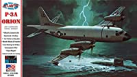アトランティスモデル 1/115 アメリカ海軍 P-3A オライオン w/スイベルスタンド (旧レベル) プラモデル ATLAMCH163