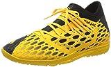 PUMA Herren Future 5.3 Netfit Tt Hallenschuhe, Gelb (Ultra Yellow Black), 43 EU
