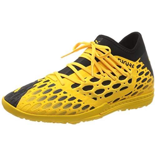 PUMA Future 5.3 Netfit TT, Scarpe da Calcio Uomo, Giallo (Ultra Yellow Black), 42.5 EU