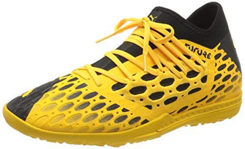 PUMA Future 5.3 Netfit TT, Scarpe da Calcio Uomo, Giallo (Ultra Yellow Black), 43 EU