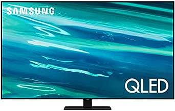 SAMSUNG 55-inch Class Q80A Series – QLED 4K UHD Smart TV with Alexa Built-in (QN55Q80AAFXZA, 2021 Model) & SAMSUNG HW-Q950A 11.1.4ch Soundbar with Dolby Atmos/DTS:X Alexa Built in(2021), Black