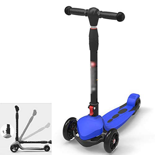 Best Bargain Scooters Self Balancing Picnic Portable Children's 3-14 Year Old Folding Flash Skateboa...
