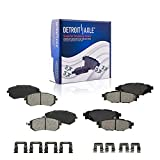 Detroit Axle - Front & Rear Brake Pads Replacement for Subaru Forester Outback Impreza Legacy - 4pc Set