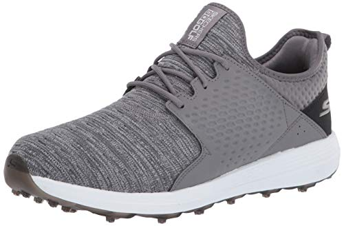 Skechers Herren Golf Shoe Max Rover Golfschuh Relaxed Fit Spikeless, anthrazit, 39 EU