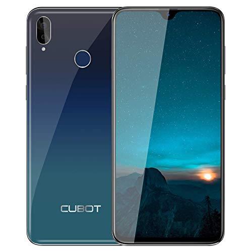 Teléfono Móviles, CUBO R15 Pro Smartphone Libres, Pantalla Completa de 6.26 Pulgadas, 3GB RAM +32GB ROM,Android 9.0, Cámara 16MP+13MP, 4G Dual SIM,Móvil Libre 128GB TF Ampliable, Tipo C-Negro