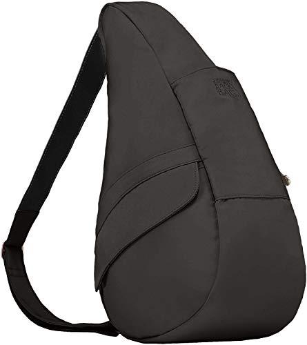 AmeriBag Medium Classic Microfiber Healthy Back Bag, Black