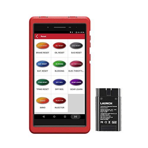 OBD Diagnosegerät X-431 ProsMini Wi-Fi Bluetooth ECU Codierung aktivem Test, vollständigen OBD2-Funktionen,Allen Systemdiagnosen und 11 Reset-Funktionen Öl/EPB/BMS/SAS-Reset, DPF Regeneration