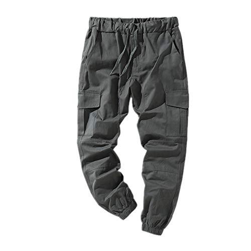 N\P Verano de los hombres ocasionales al aire libre ropa deportiva pantalones sueltos pantalones deportivos