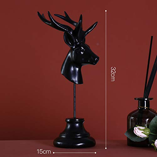 Wegji Scandinavisch licht, goudkleurig, creatief, hertenkop, ornament, steiger, slaapkamer, bar, kast, decoratie, cadeau