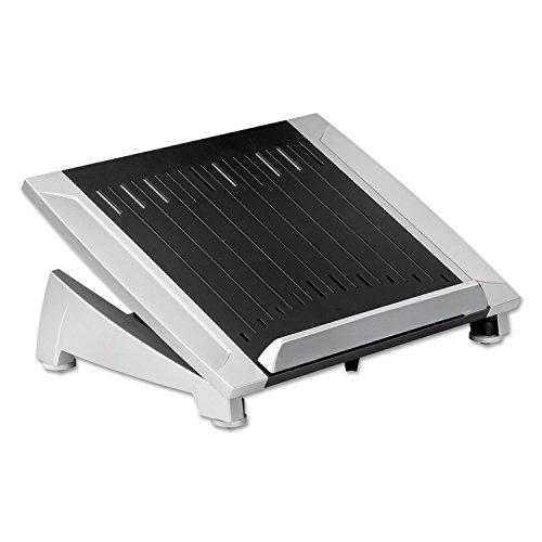 Fellowes 8036701 Office Suites Laptop Riser Plus, 15 1/16 x 10 1/2 x 6 1/2, Black/Silver