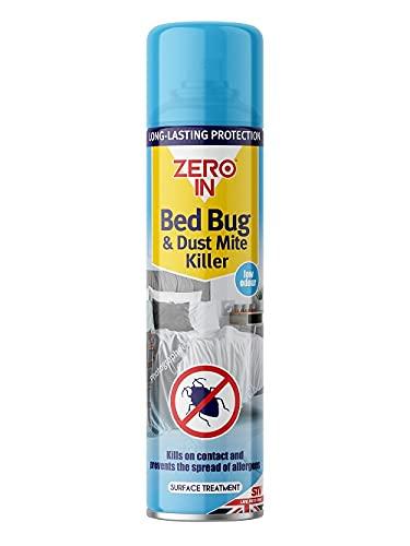 Zero In ZER968 Bed Bug Killer Spray 300 ml, Blue