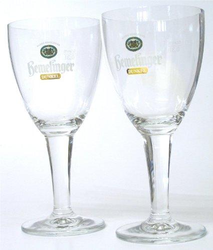 Hemelinger Dunkel 6er Gläser Set 6x0,30 Liter exclusive Gastro Edition