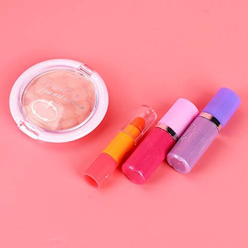 Zopsc-1 Juego de Maquillaje, Kit de Juguete de Maquillaje, Juego de Maquillaje Soluble en Agua, Juguete para cosméticos