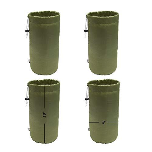 Augbunny Strapazierfähige Tasche mit Kordelzug, wasserabweisend, Staubklappe, 4 Stück