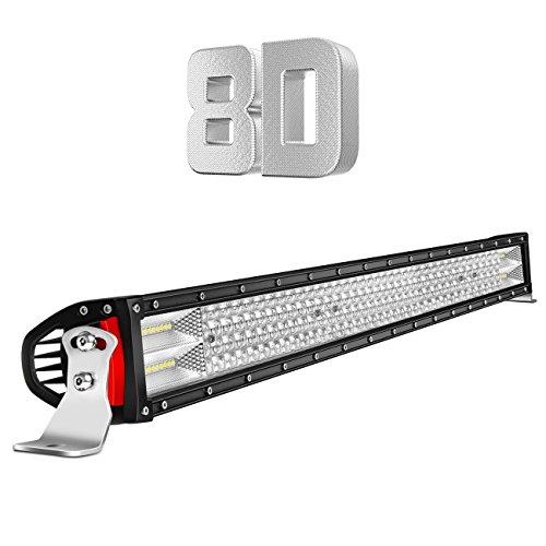 LED Light Bar Quad Row 42Inch 744W Flood Spot Combo Lights Waterproof IP67 for Off Road Lighting Jeep and Trucks SUV