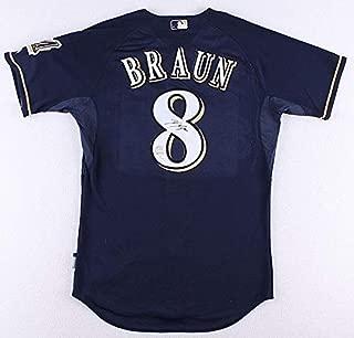 ryan braun signed jersey