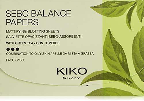 KIKO Milano Sebo Balance Papers | Lingettes Matifiantes
