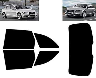 Film Solaire Prédécoupé Teinté pour-Audi A4 5-Portes Break 2008-2014 Vitres Arrière & Lunette