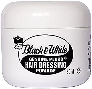 Black And White Pluko Hair Dressing Pomade 50 ml