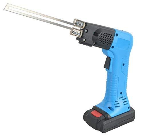 Thermo-messenset met accu 18 V – draadloos mes voor messen van 10 cm tot 15 cm in koffer.