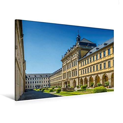 Premium Textil-Leinwand 120 x 80 cm Quer-Format WÜRZBURG Juliusspital | Wandbild, HD-Bild auf Keilrahmen, Fertigbild auf hochwertigem Vlies, Leinwanddruck von Melanie Viola