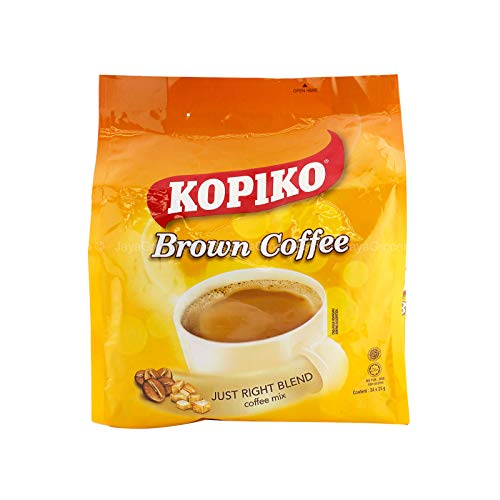 3 Pack Kopiko Brown Coffee Just Right Blend Coffee Mix (3 x 24 Sachets)