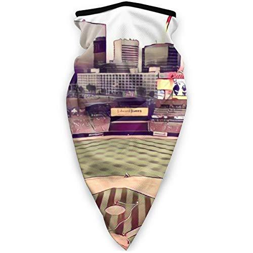 BJAMAJ St. Louis Ballpark buiten gezicht Mond Mask Winddicht Sport Masker Ski Masker Sjaal Bandana Mannen Vrouw